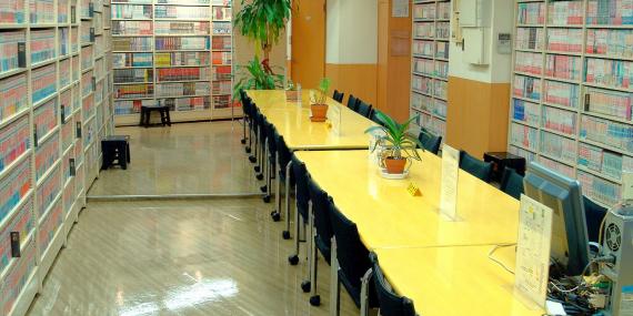 東京都世田谷区にあるコワーキングスペース まんがの図書館 ガリレオ