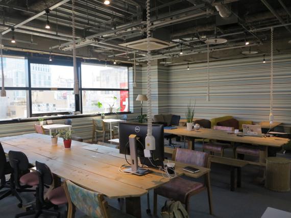 愛知県豊橋市にあるコワーキングスペース Coworking space Trial Village(コワーキングスペース トライアルビレッジ)