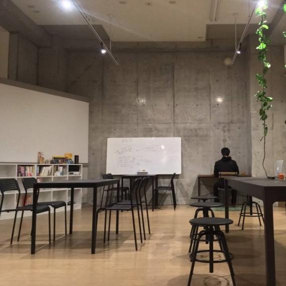 茨城県つくば市にあるコワーキングスペース Global Incubation Cafe Peach(グローバル インキュベーション カフェ ピーチ)