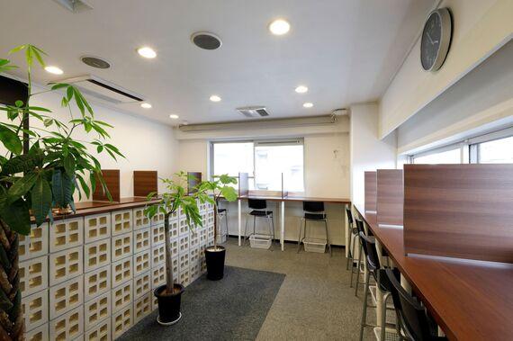 大阪府大阪市西区にあるコワーキングスペース BIZcomfort大阪 北堀江