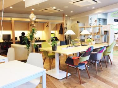 カフェのような時間を オープンオフィスFOREST(フォレスト)