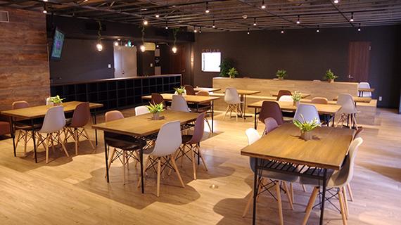 大分県大分市にあるコワーキングスペース Oita Co.Lab Lounge(大分 コラボ ラウンジ)