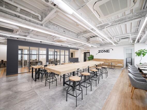大阪府大阪市中央区にあるコワーキングスペース コワーキングスペースZONE(ゾーン)