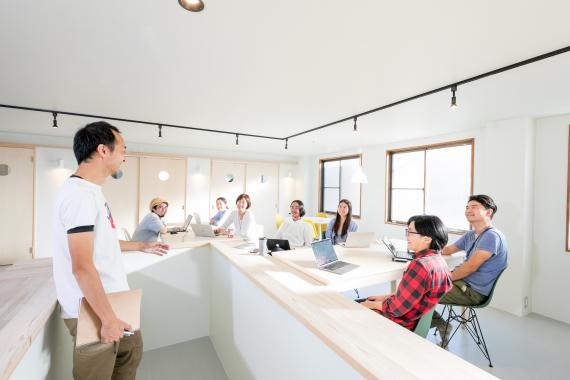 神奈川県鎌倉市にあるコワーキングスペース HATSU鎌倉