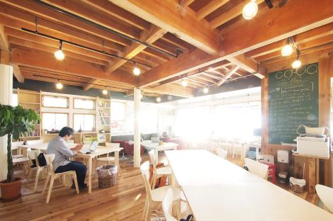新潟県新潟市中央区にあるコワーキングスペース co-ba NIIGATA SEAPOINT(コーバ ニイガタ シーポイント)