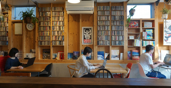 東京都世田谷区にあるコワーキングスペース DOTEMA(ドテマ)