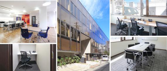 東京都新宿区にあるコワーキングスペース オープンオフィス西新宿