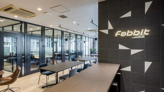 東京都中央区にあるコワーキングスペース fabbit銀座