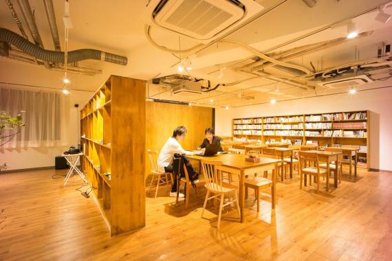 東京都千代田区にあるコワーキングスペース Co Learning Spaceみらい研究所(コラーニングスペース)