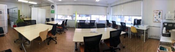 千葉県千葉市中央区にあるコワーキングスペース 千葉コワーキングスペース201