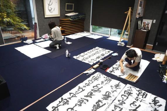 栃木県宇都宮市にあるコワーキングスペース 書道専用レンタルスペース