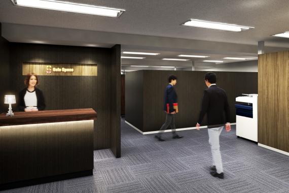 東京都中央区にあるコワーキングスペース SoloSpace日本橋箱崎店