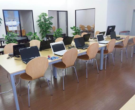 岩手県久慈市にあるコワーキングスペース 特定非営利活動法人「ワークリンク」久慈センター