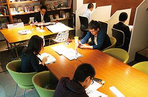 勉強カフェ 横浜関内スタジオメインイメージ
