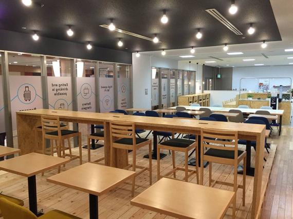 東京都渋谷区にあるコワーキングスペース Coin Space 渋谷マークシティ店(コインスペース)