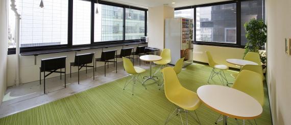 東京都中央区にあるコワーキングスペース オープンオフィス日本橋セントラル