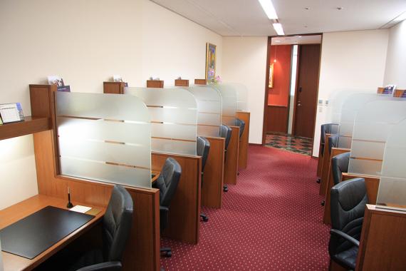 大阪府大阪市北区にあるコワーキングスペース サーブコープ梅田 ヒルトンプラザ ウエスト オフィスタワー コワーキングスペース