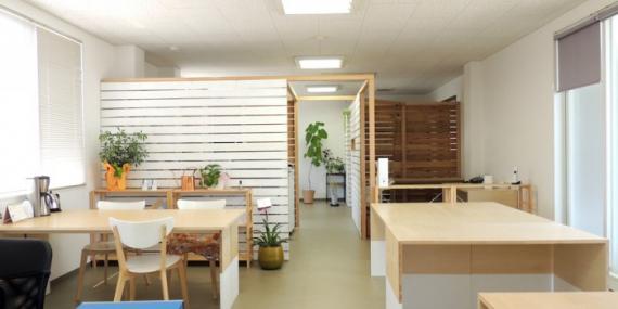 和歌山県和歌山市にあるコワーキングスペース Coworking space コンセント