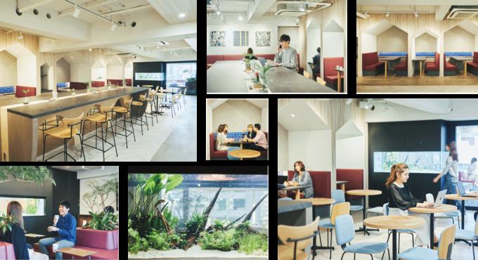 東京都千代田区にあるコワーキングスペース Work Lounge WACRÉ(ワークラウンジ ワクレ)