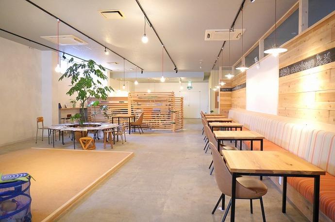 群馬県桐生市にあるコワーキング&コミュニティスペース「COCOTOMO」(ココトモ)