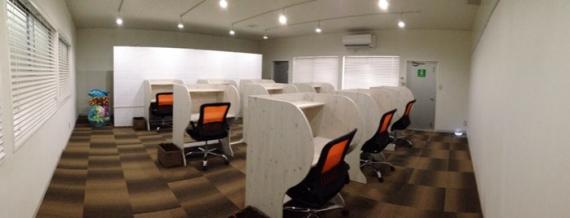 沖縄県那覇市にあるコワーキングスペース 勉強カフェ 那覇ラーニングスタジオ