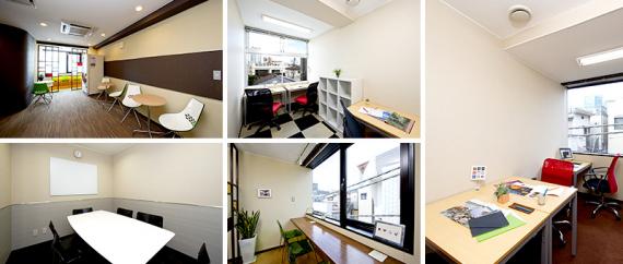東京都港区にあるコワーキングスペース オープンオフィス南青山