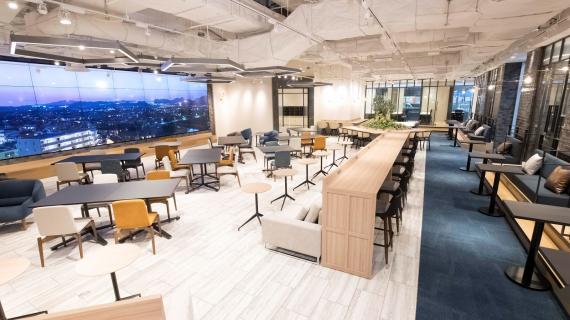 福岡県北九州市門司区にあるコワーキングスペース fabbit Global Gateway ACROS Fukuoka