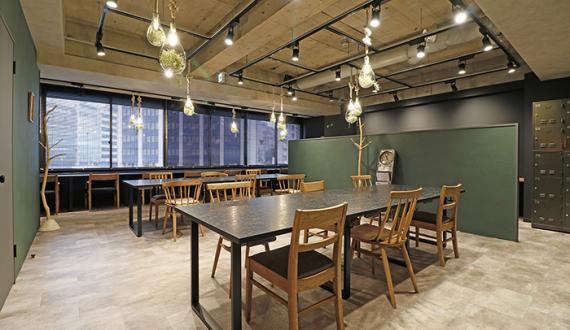 東京都渋谷区にあるコワーキングスペース THE HUB 渋谷 アセットデザイン(ザ・ハブ)