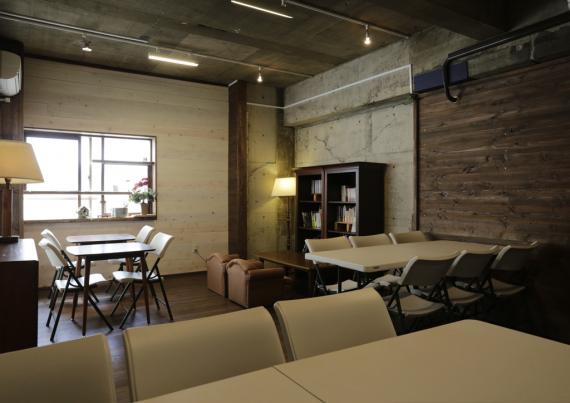 山梨県甲府市にあるコワーキングスペース 文化のるぼ へちま
