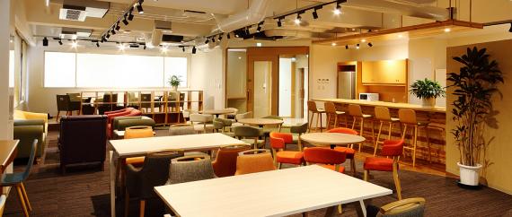 兵庫県豊岡市にあるコワーキングスペース Coworking Space FLAP TOYOOKA(フラップ豊岡)