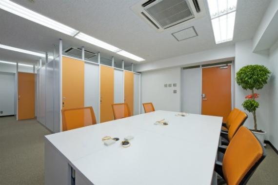 東京都中央区にあるコワーキングスペース 銀座アントレサロン1号店