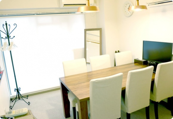 東京都世田谷区にあるコワーキングスペース ワンストップビジネスセンター二子玉川店