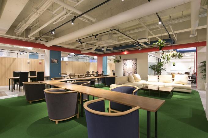 福岡県福岡市博多区にあるコワーキングスペース The Company ~Work Link.(ザ・カンパニー ワークリンク)
