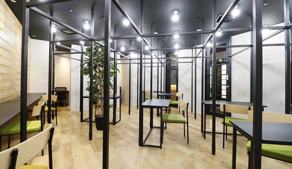 大阪府大阪市中央区にあるコワーキングスペース THE CODE 大阪本町 アセットデザイン(ザ・コード)
