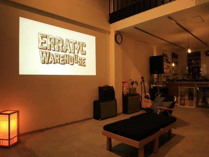 ERRATIC WAREHOUSE(エラティック ウェアハウス)