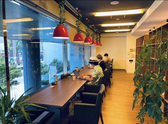 北海道札幌市北区にあるコワーキングスペース AD.connectプラス(エーディーコネクトプラス)