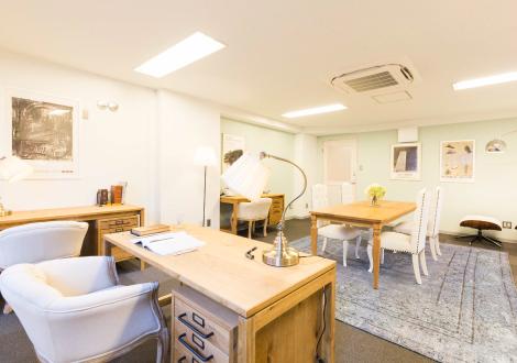 東京都千代田区にあるコワーキングスペース プレミアムオフィス麹町
