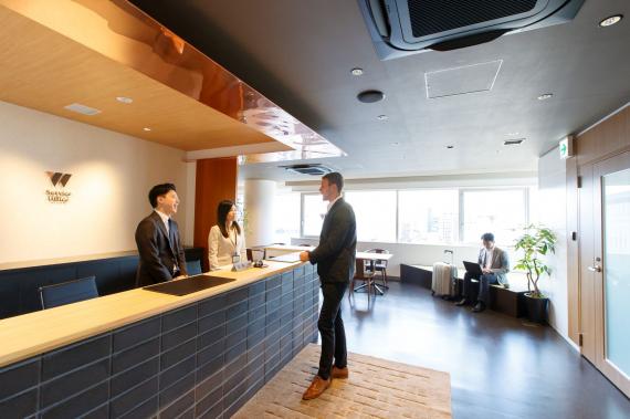 京都府京都市下京区にあるコワーキングスペース ServiceOffice W 京都駅前
